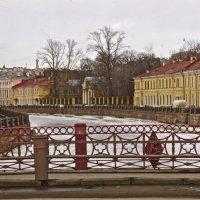 Красный мост через Мойку :: Елена