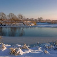 Ковала ледяные да над реками мосты :: Сергей Раннев