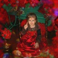 в красом платье :: Анна Скиргика