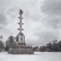Чесменская Колонна, Екатерининский парк :: Александр Кислицын