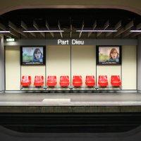 Станция метро Part Dieu в Лионе :: Фотограф в Париже, Франции Наталья Ильина