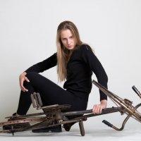 девушка с велосипедом :: Фотограф Наталья Рудич Новацкая