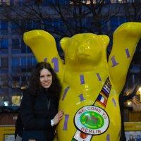 Катя и медведь)) :: Екатерина Харитонова