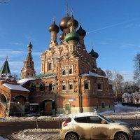 подойти к Храму и обалдеть от счастья жизни :: Олег Лукьянов