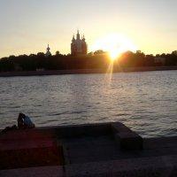 Закат на Неве :: Svetlana Lyaxovich