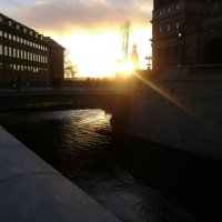 Закат в Стокгольме :: Марина Домосилецкая