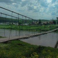 Вот этот мостик в берёзовый... :: Михаил Полыгалов