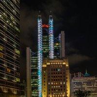 """Огни Большого города.. (из серии """"Ночной Гонконг"""") :: Виктор Льготин"""