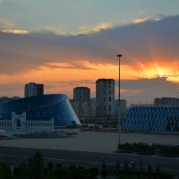 Доброе утро, Астана! :: Anna Gornostayeva