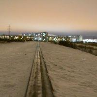 Северодвинск вечером. :: Михаил Поскотинов