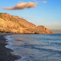 Закат над Ливийским морем, Сугия, Крит :: Владимир Брагилевский
