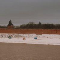 Башни Новгородского Кремля. :: Татьяна