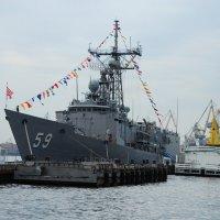 ВМФ  США в территориальных водах Санкт-Петербурга..)) :: tipchik