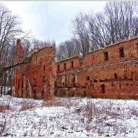 "Руины замка ""Бальга"". :: Валерия Комова"