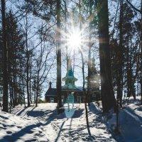 Церковь возле горячих источников :: Сергей Алексеев