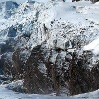 Скалы массива  Monte Rosa. :: Надя Кушнир