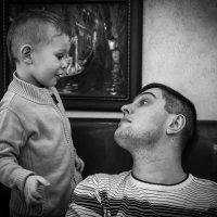 Диалог отца и сына :: Игорь Герман