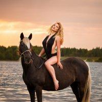 На закате :: Ксения Курилина