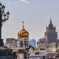Москва. Здание Министерства иностранных дел. :: В и т а л и й .... Л а б з о'в