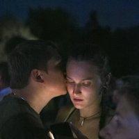 поцелуй. :: Евгений Поляков
