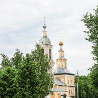 Церковь Казанской Иконы Божией Матери в Угличе. :: Владимир Безбородов
