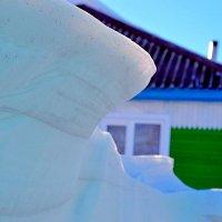 снежная зима на Алтае :: Виктория