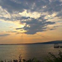Красивый закат.. :: Galina ✋ ✋✋
