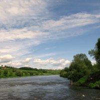 Река Ока. :: Владимир Драгунский