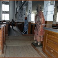 Деревянные скульптуры - фигуры людей :: Вера