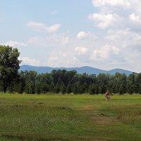 Босиком по траве, или наедине с природой :: Екатерина Торганская