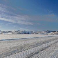 Панорама ледовой переправы :: Анатолий Иргл