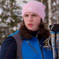 Лыжница :: Дмитрий Сиялов
