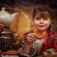 Барынька с баранкой! :: Ольга Егорова