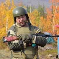 Занятия по огневой подготовке :: Сергей Карцев