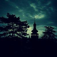 Вечер над деревней :: Сергей Форос