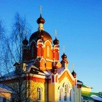 Церковь Воздвижения Креста Господня. :: Сергей Кочнев