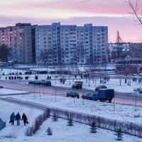 Вид из окна. Утро :: Николай Котко