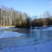 Март еще не справился с зимой :: Елена Павлова (Смолова)