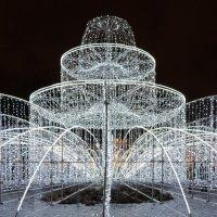 Рождественский фонтан :: Ольга