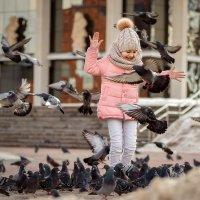 Весна и голуби :: Ната Тихонова