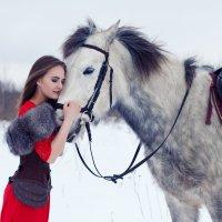 Юлия и Иней :: Мария