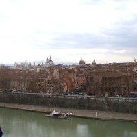 Рим и Тибр с высоты птичьего полёта :: Veselina *