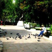 Москва. Чистопрудный бульвар. :: Владимир Драгунский