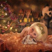 Новогодняя сказка :: Malinka Art Galina Kazan