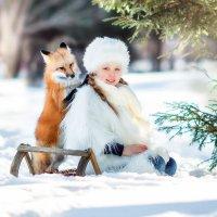 Лесные встречи с живой лисицей))) :: Юлия Трошина