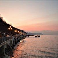 Зимний закат :: Марина