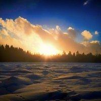 зимний закат :: Екатерррина Полунина