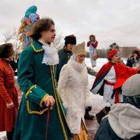 Масленица в Коломенском :: Vera Ostroumova