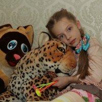 Кира и ягуар :: Александр Корнелюк