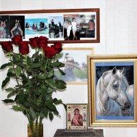 Цветы для прекрасных дам :: Людмила Монахова